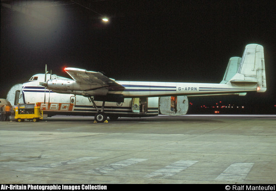 G-APRN, Air Bridge Carriers, Berlin 14 Sep 75