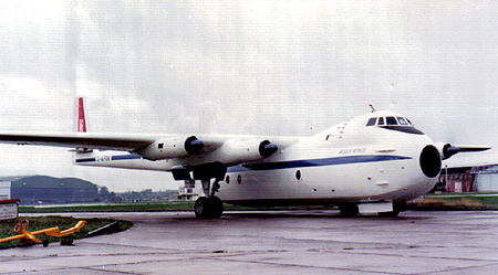 G-APRM whilst owned by Rolls Royce
